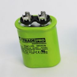 TRADEPRO® - TP-CAP-5/440USA  5 MFD 440/370V Oval Capacitor (Made in USA)