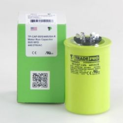 TRADEPRO® - TP-CAP-55/5/440USA-R  55/5 MFD 440/370V Round Capacitor (Made in USA)