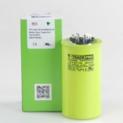 TRADEPRO® - TP-CAP-70/10/440USA-R  70/10 MFD 440/370V Round Capacitor (Made in USA)