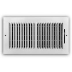 "Truaire - 100 Series 8"" x 4"" 2 Way Wall/Ceiling Register"