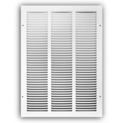 "Truaire - 17020X30  20""X30"" White Return Air Grille"
