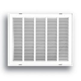 Truaire 20 Quot X16 Quot White Return Air Filter Grille With