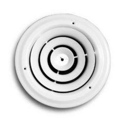 """Truaire - 801-06  6"""" White Round Diffuser"""