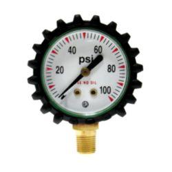 """Uniweld  - G49D - 1 1/2"""" Welding Gauge 0-100 PSIG"""
