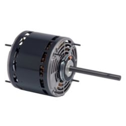 Nidec - Direct Drive Blower Motor 1HP 208/230V 5.6 FLA 1075 RPM 3-Speed