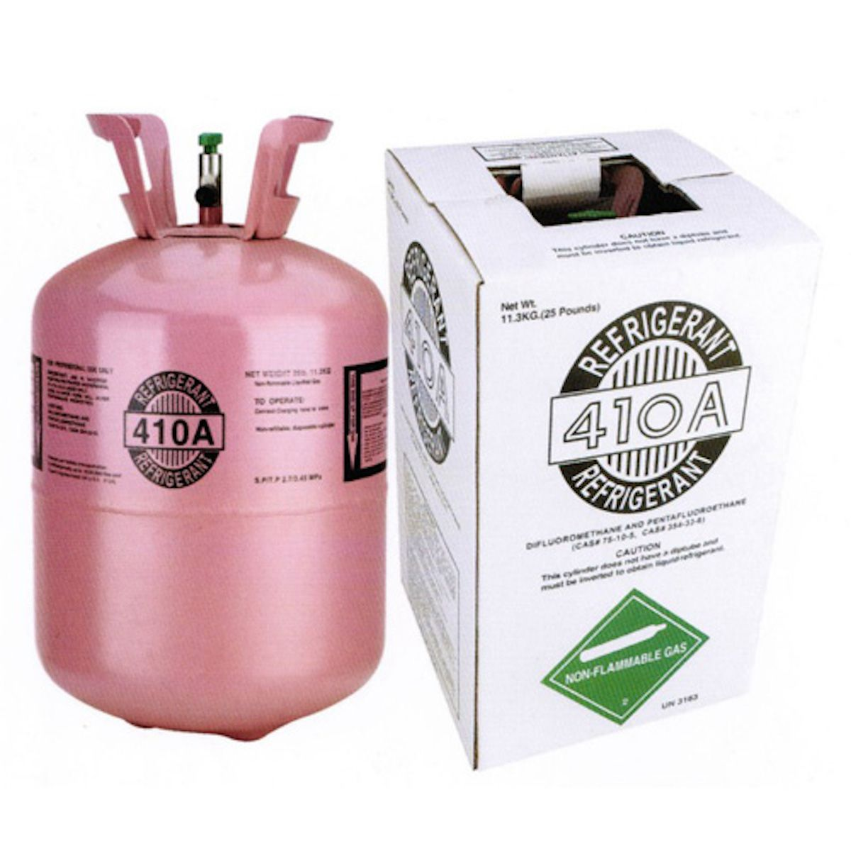 Varies R410a 25lb Refrigerant Carrier Hvac