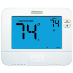 VIVE - TRADEPRO® - TP-N-801 Non-Programmable Large Display Thermostat 1H/1C