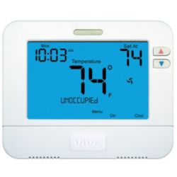 VIVE™ - TRADEPRO® - TP-S-855CR  Universal Light Commercial or Residential Digital Thermostat
